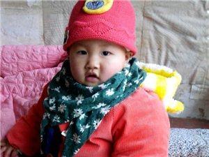 小孙女彭芯茹10个月照片