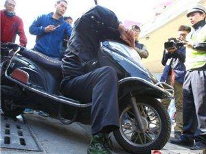 摩的司机非法拉客致车被查,事后殴打执法人员被拘留