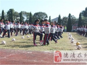 农村学校足球梦的美好起点