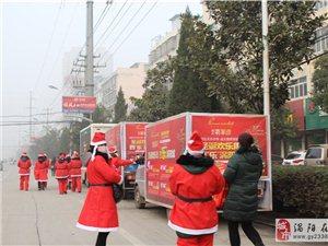 翡翠湾圣诞老人平安果全城大派送  你收到了吗
