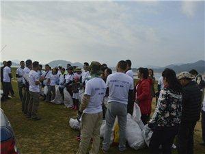 民进社工团携手一行户外公益清洁活动随记