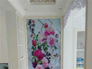 专业冰晶电视背景墙装饰画,佳美让您的家更美