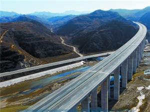 2016年河南开建尧栾西高速;比三淅高速还要美