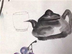 赵录平老师作品《淡静的生活如品茶》