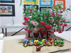 小艺术美工坊 儿童绘画班的手工制作