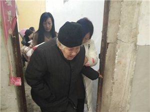 潢川志愿者联合会将无人照料的高龄老人送至冯唐敬老院!
