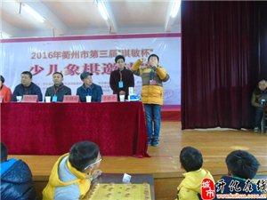 """2016年衢州市第三届""""琪敏杯""""少儿象棋邀请赛现场选手的风采"""