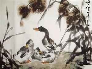 画家刘志红花鸟画作品