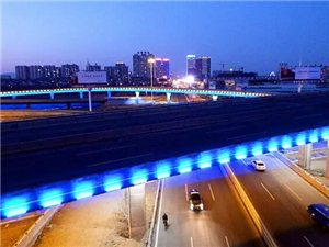 威尼斯人娱乐开户立交桥夜景,太美了