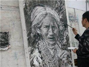 李亚南的人物画作品