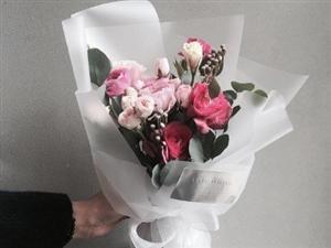 以后要开个花店卖美美的花