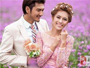 拍婚纱照更上镜的笑容 笑笑很倾城