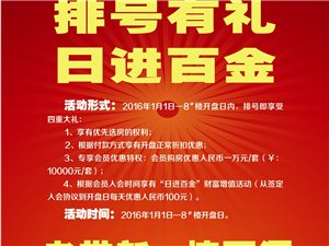 康安江城2期排号开始了,每套优惠10000元