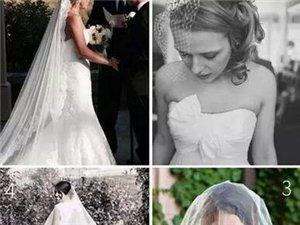 【招远吉祥鸟】准新娘婚前必修课:头纱到底怎么戴