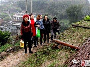 沐爱镇骑龙村有一残疾户房屋遭受火灾后……