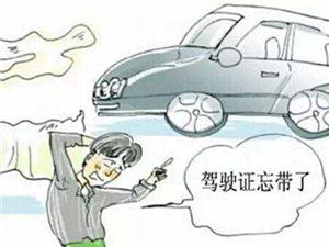 开车忘带驾照算无证驾驶吗?