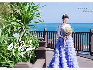 三亚百合经典婚纱海的故事篇章-微光精灵