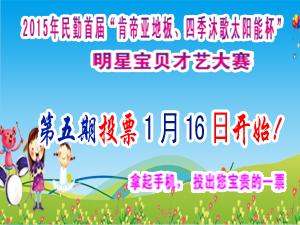 肯帝亚地板、四季沐歌太阳能杯明星宝贝决赛(五期)
