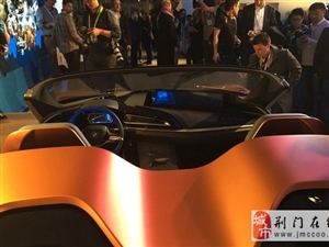 比i8敞篷还科幻 宝马发布i Vision概念车