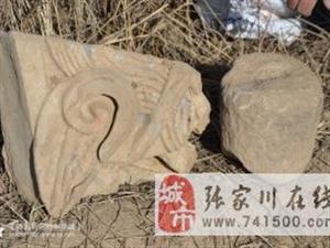 陪同中国回族史学者、张家川县作协主席马国强先生再探白起堡