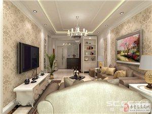 山海关天弘家园140平复式 现代居室里的纯情简欧风