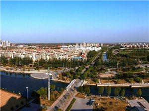 高空中看商河大地没想到如此美丽(图)