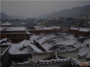 龙潭古镇――雪韵