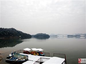 大美汉寿(13)江东湖雪景