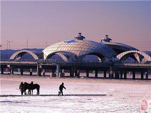 喀左风光-龙源湖之冬