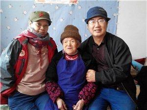 志愿者给孤寡老人—猫猫奶奶拜年