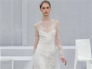 不只是性感 2016年最流行的蕾丝婚纱