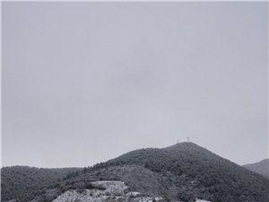 泸沽湖下雪啦!