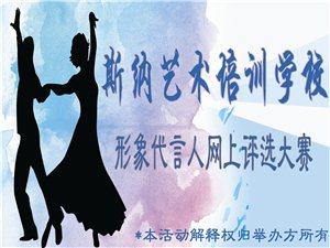 斯娜艺术培训学校形象代言人网上投票活动