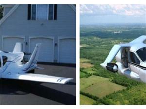 世界上第一辆会飞的汽车哟