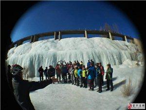 骑行石脑赏冰川(图)