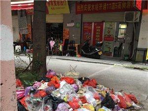 永春西菜市旁邊的垃圾成堆,臭味難聞,咋沒人來處理呢??