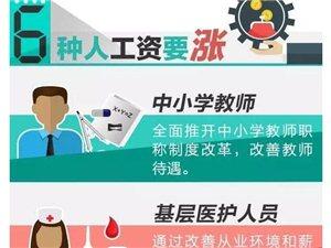 萍乡6种人工资要涨!6类费用要降!看看有没有你~