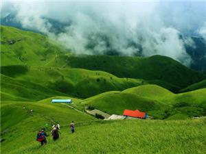 天上草原、人间仙境――――4月22-25日.徒步穿越江西萍乡武功山