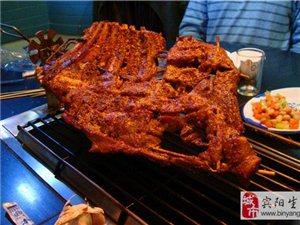 草原特色烤羊肉吃3斤送一斤。桌桌送精美小吃2份!