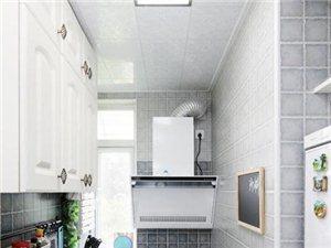 狭长小厨房设计 放大封闭空间