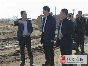 伊春市委常委、铁力市委书记王立奇到双丰产业园调研