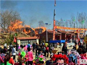 榆树林子小房身庙会引发火灾
