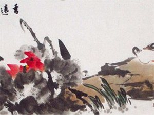 刘志红花鸟画作品