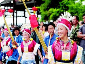2016年惠水�W�j文化�-三月三