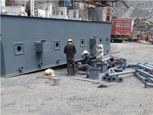 全国首条煤矿尾矿综合处理生产线在我县石屏三桂即将建成投产