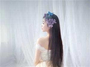 灵动少女梦幻写真宛如仙女