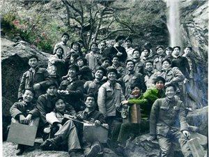 1980年4月在南阳市桐柏县太白顶 水帘寺