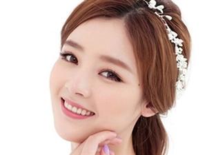 最新韩式新娘婚纱发型