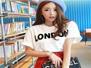云依雪修身夏装韩版字母印花宽松大码女短袖T恤学生上衣热卖爆