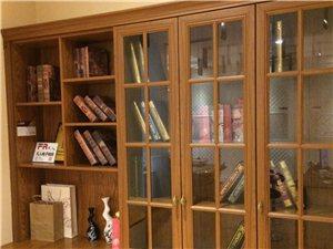 欧式包覆书柜